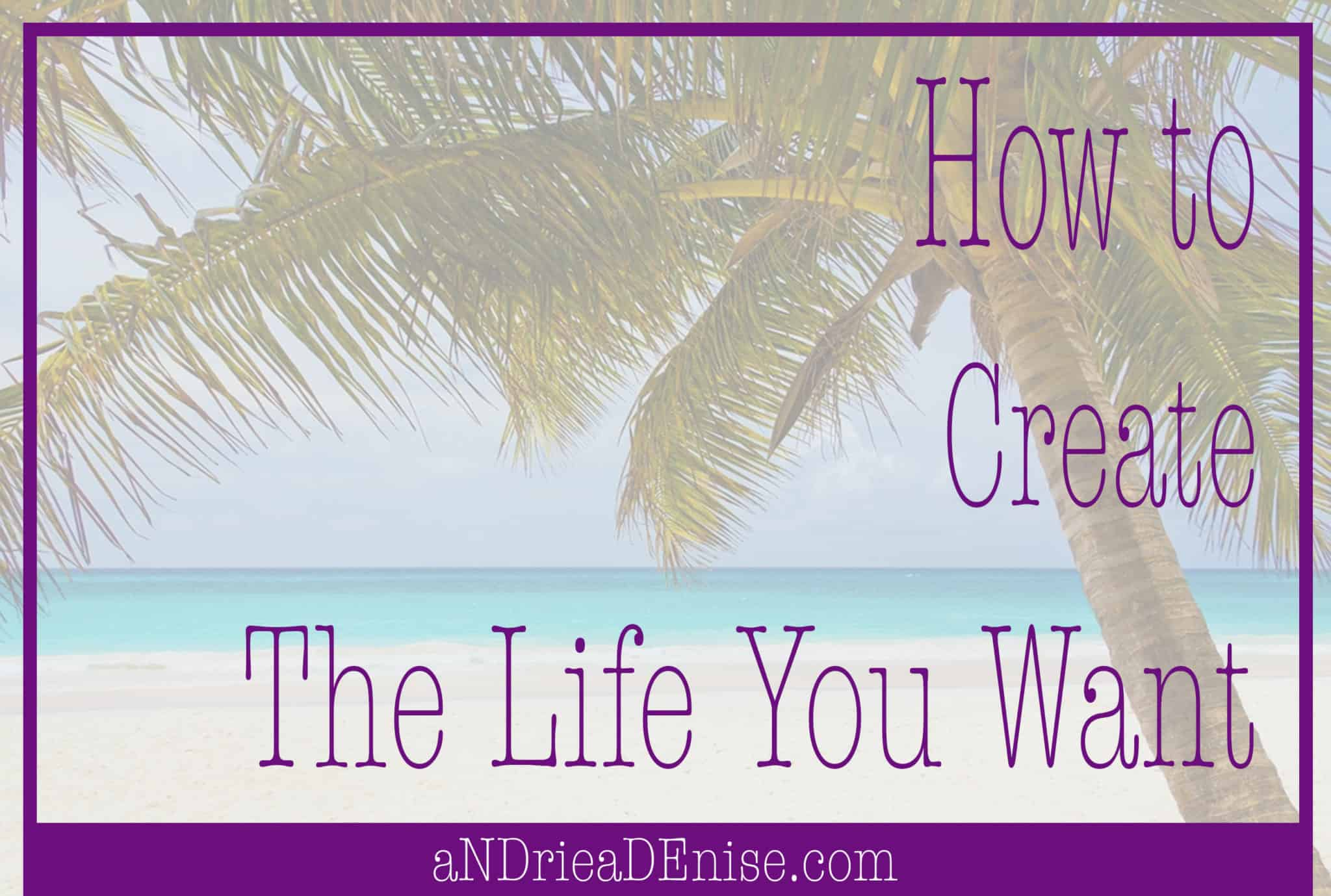 aNDriea DEnise - Create the Life You Want