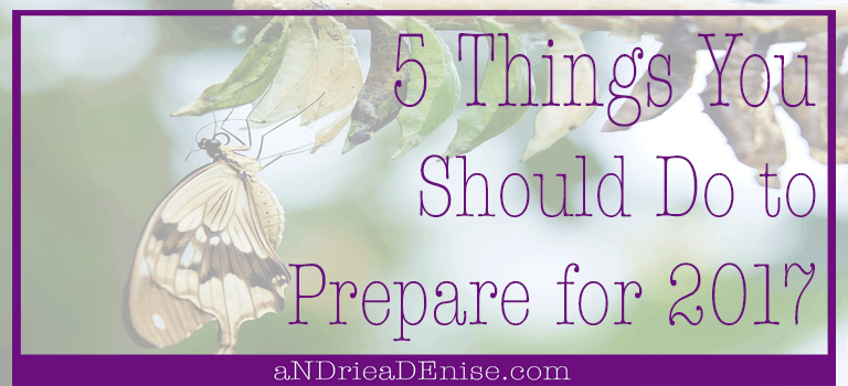 5 Things You Should Do to Prepare for 2017