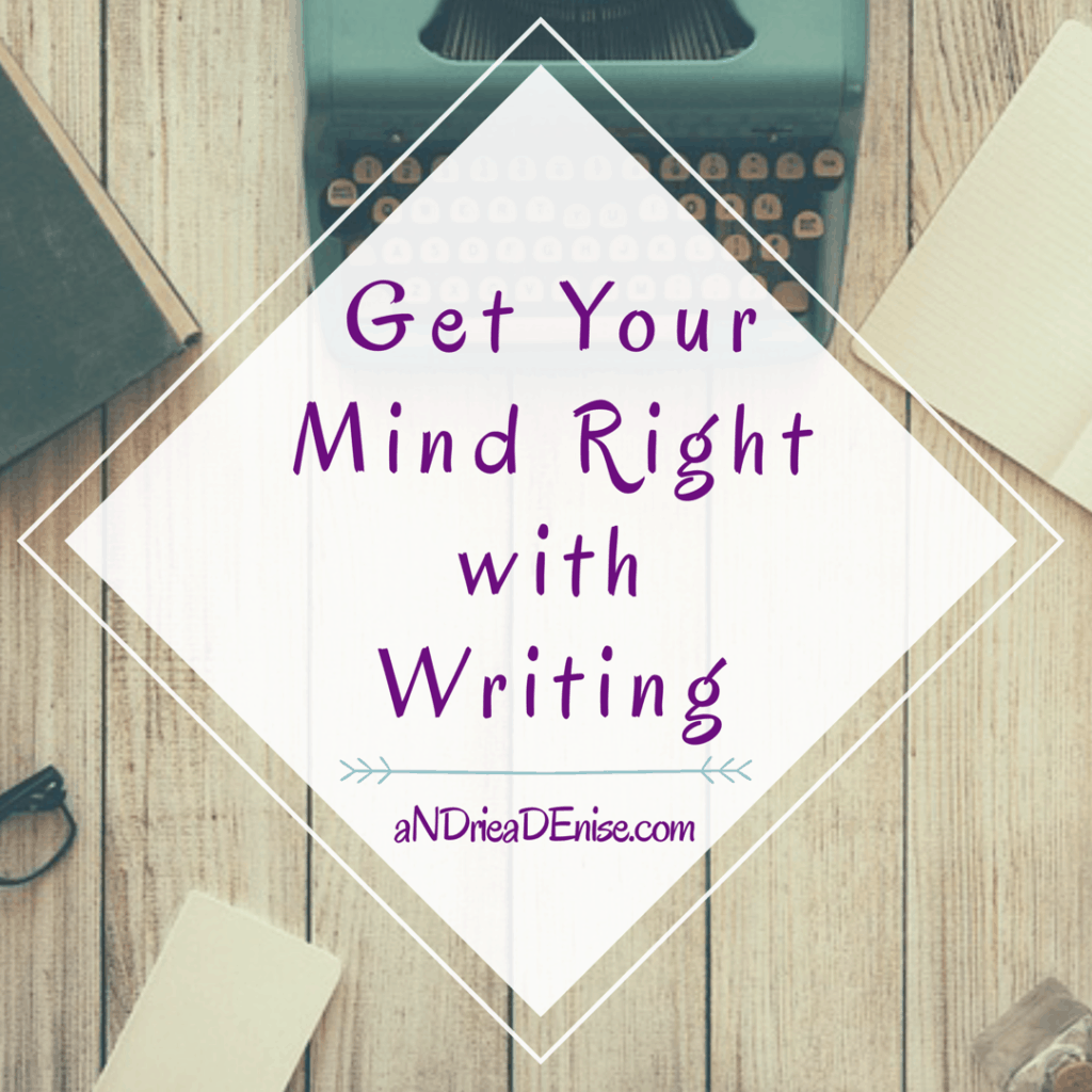 Get Your Mind Right with Writing Image