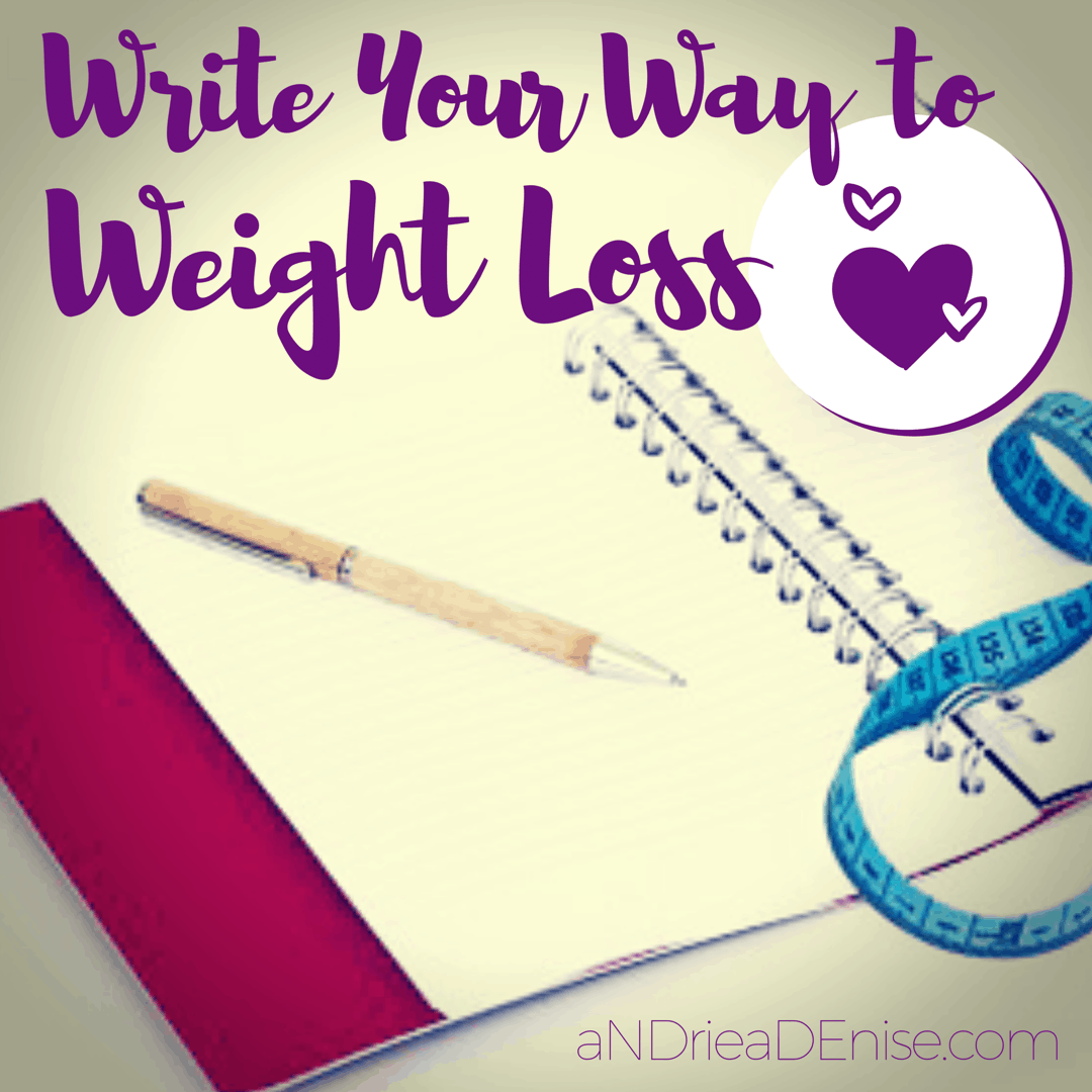 Write Your Way to Weight Loss