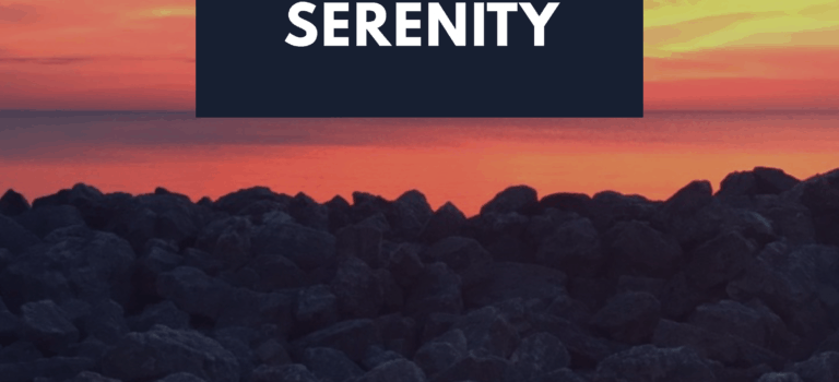Surrender to Serenity: Achieve Peace with Writing + Giveaway