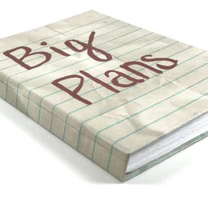 """Big Plans"" Notebook Journal"