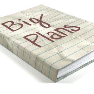 """""""Big Plans"""" Notebook Journal"""